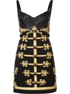 платье в стиле милитари Dolce & Gabbana