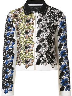жаккардовый укороченный пиджак Giambattista Valli