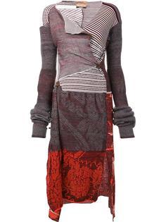 платье лоскутного кроя Andreas Kronthaler For Vivienne Westwood