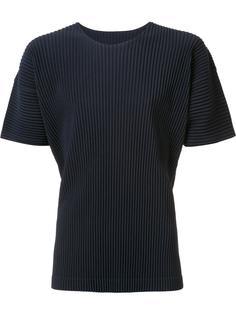 базовая футболка Homme Plissé Issey Miyake