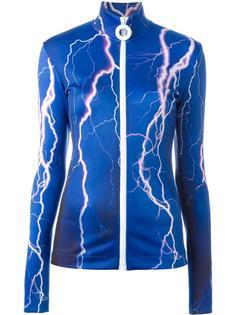 спортивная куртка на молнии Carven