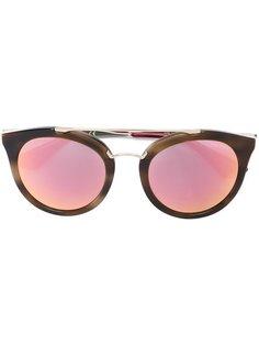 солнцезащитные очки в круглой оправе Prada Eyewear