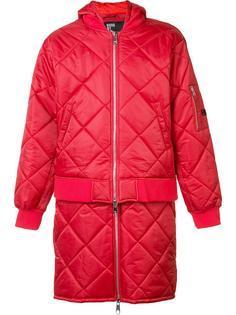 стеганая куртка-бомбер Hood By Air