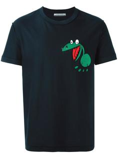 футболка с принтом динозавра Andrea Pompilio