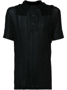 футболка на пуговицах Ann Demeulemeester