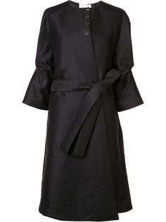 пальто с драпированными рукавами три четверти Antonio Berardi