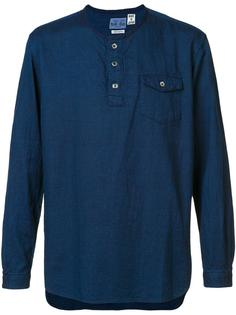 кофта Henley Blue Blue Japan