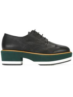 туфли на шнуровке и платформе Paloma Barceló
