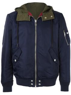 куртка с капюшоном и панельным дизайном Diesel