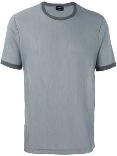 футболка с круглым вырезом Jil Sander