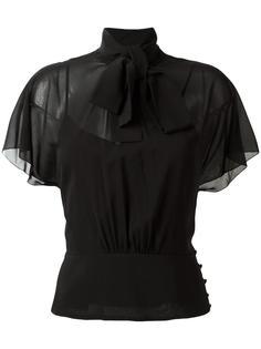 прозрачная блузка Red Valentino