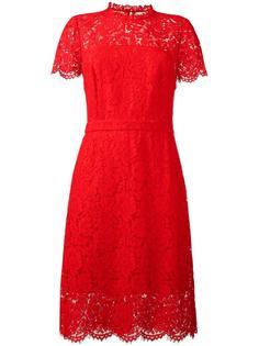 платье с кружевной отделкой Diane Von Furstenberg