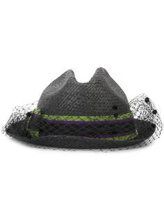 шляпа с сеткой Emporio Armani