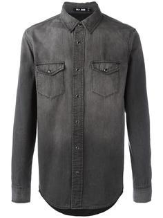 джинсовая рубашка с карманами Blk Dnm