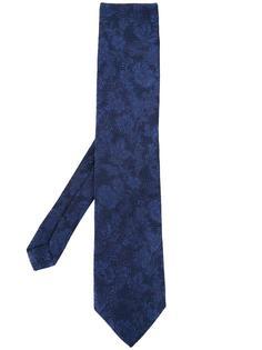 жаккардовый галстук с цветочным узором Etro