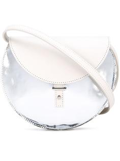 сумка через плечо с эффектом металлик Pb 0110