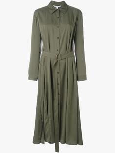 платье-рубашка с завязками на талии Diane Von Furstenberg