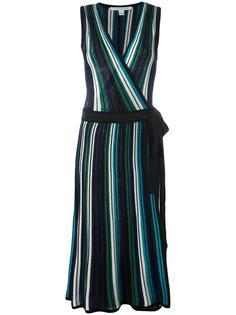 полосатое платье Diane Von Furstenberg