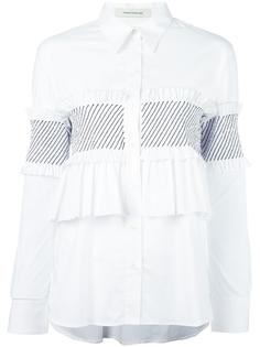 рубашка с оборками Cédric Charlier