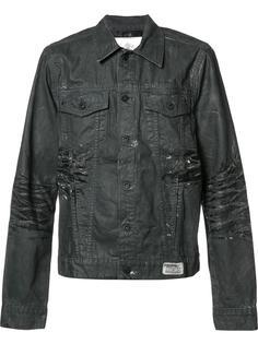 джинсовая куртка с потертой отделкой Prps