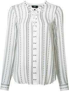 блузка со шнуровкой Paige