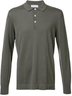 футболка-поло с длинными рукавами Brunello Cucinelli