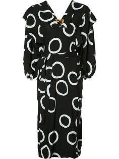 платье с узором и поясом Vivienne Westwood Anglomania