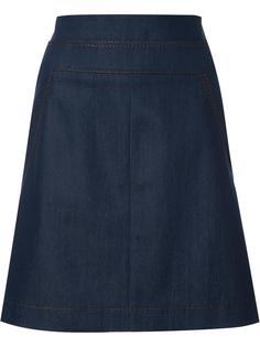 джинсовая юбка Akris Punto