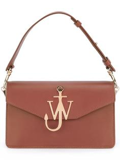 сумка с бляшкой-логотипом J.W.Anderson