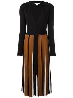 платье с запахом и складками Diane Von Furstenberg