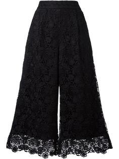 укороченные кружевные брюки Diane Von Furstenberg