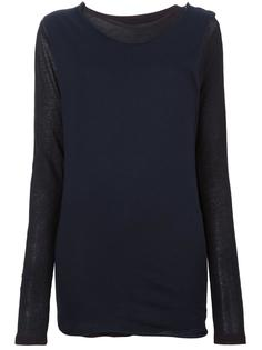 layered longsleeved T-shirt Water
