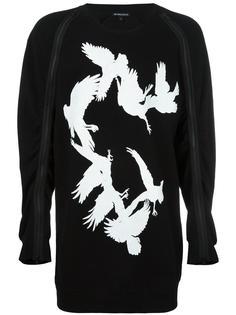 zipped detailing sweatshirt Ann Demeulemeester