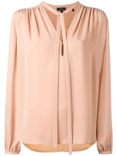 блузка с завязками Theory