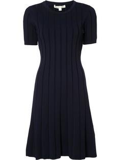 плиссированное платье в полоску Jonathan Simkhai
