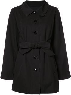 удлиненная куртка с поясом Boutique Moschino