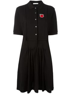 платье-рубашка с воротником-поло Peter Jensen