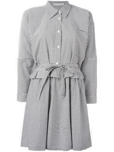 платье-рубашка с завязками Peter Jensen