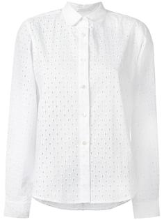 ажурная рубашка Peter Jensen