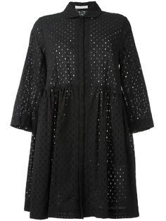 ажурное расклешенное платье  Peter Jensen