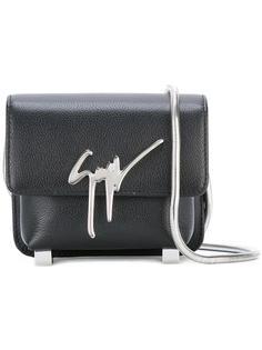 сумка через плечо с откидным клапаном Giuseppe Zanotti Design