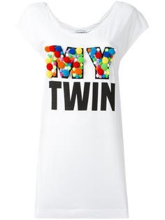embossed logo print T-shirt Twin-Set