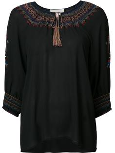 блузка с вышивкой The Great