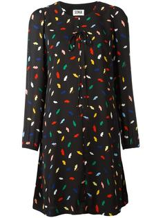 lips print shift dress Sonia By Sonia Rykiel