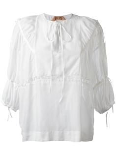 блузка с панельным дизайном Nº21