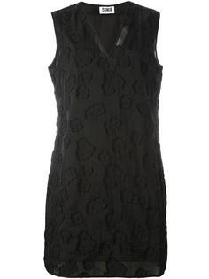 sheer detailing shift dress Sonia By Sonia Rykiel