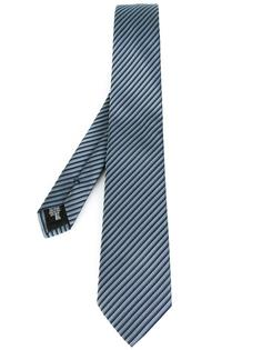 галстук с полосатым узором Armani Collezioni