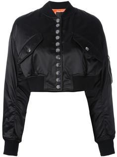 укороченная куртка-бомбер  Alexander Wang