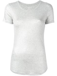 футболка с отделкой металлик Majestic Filatures