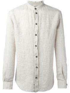рубашка с воротником-мандарин Armani Collezioni